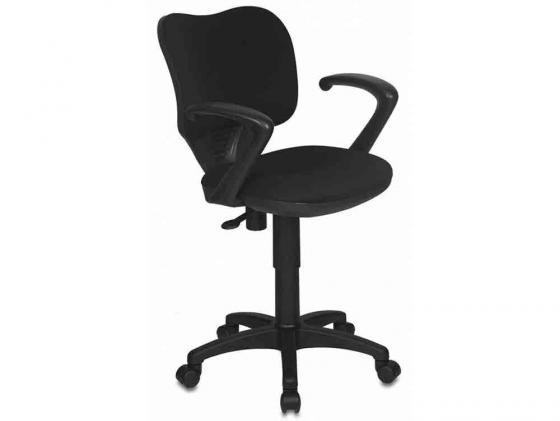 цена на Кресло Buro CH-540AXSN-LOW/26-28 низкая спинка черный 26-28