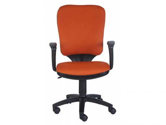 цена на Кресло Buro CH-540AXSN-LOW/26291 низкая спинка оранжевый 26-29-1