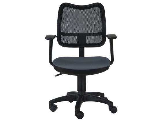 Кресло Buro CH-797AXSN/26-25 подлокотники T-образные спинка сетка черный сиденье серый 26-25 hcdiva t1b 30 24 26 26