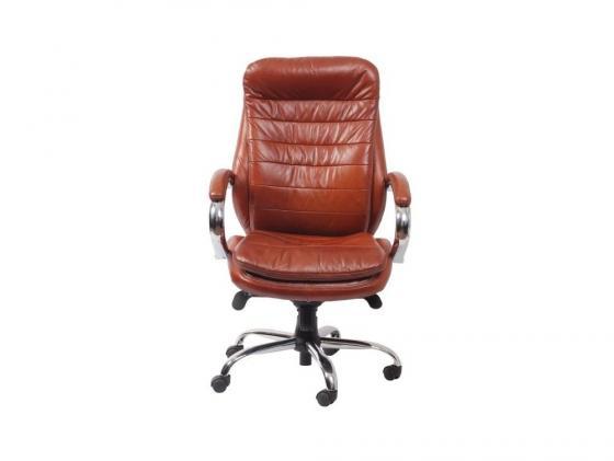 Кресло Buro T-9950AXSN/Brown кожа коричневый t 9950axsn brown pu