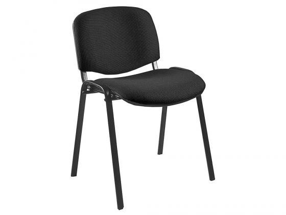 Стул Buro Виси черный каркас черная ткань C-11 офисный стул бюрократ виси