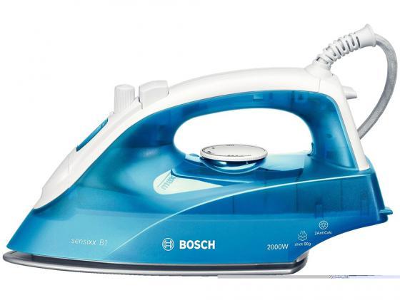 Утюг Bosch TDA 2610 2000 Вт подача пара 25 г/мин пар. удар 60 г/мин голубой утюг bosch tda 2315 1800 вт подача пара 20 г мин пар удар 40 г мин зеленый