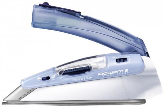 Утюг Rowenta DA 1510F1/F2 1000 Вт подача пара 10 г/мин пар. удар 45 г/мин дорожный голубой цена и фото