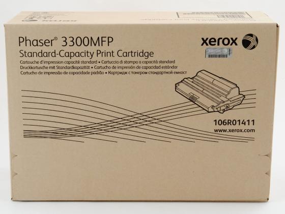 Картридж Xerox 106R01411 для Phaser 3300MFP черный 5000стр картридж xerox 106r01411 для phaser 3300 mfp x черный 4000 страниц