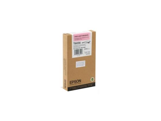 Картридж Epson C13T603600 для Stylus Pro 7880/9880 светло-пурпурный картридж epson c13t603300 для epson stylus pro 7880 9880 пурпурный