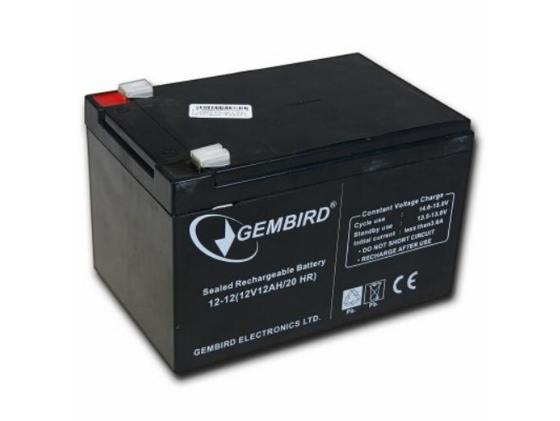 все цены на Батарея Gembird 12V12AH BAT-12V12AH/6 онлайн