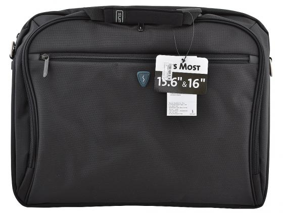 "Сумка для ноутбука 15"" Sumdex PON-352BK полиэстер нейлон черный сумка для ноутбука 15 sumdex pon 321nv синий"