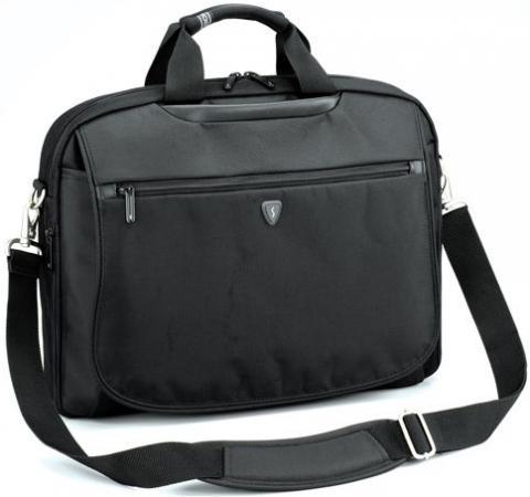 Сумка для ноутбука 15 Sumdex PON-353BK нейлон-полиэстер черная б у сумку для ноутбука
