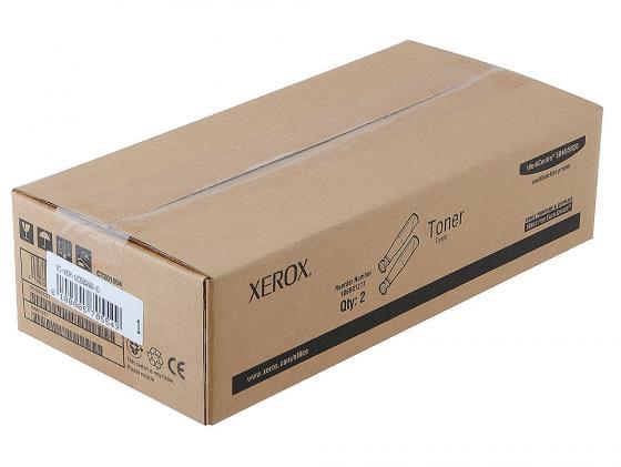 Тонер-картридж Xerox 106R01277 для WC5016 WC5020 6300стр 2шт Чёрный