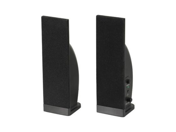 цена на Колонки Sven 230 2x2 Вт черный пластик