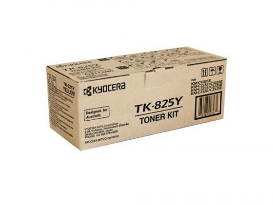 Картридж Kyocera TK-825C для KM C2520 C3225 C3232 голубой 7000стр