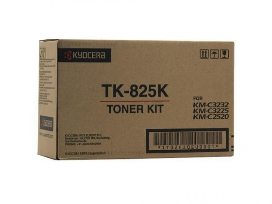 Картридж Kyocera TK-825K для KM C2520 C3225 C3232 черный 15000стр