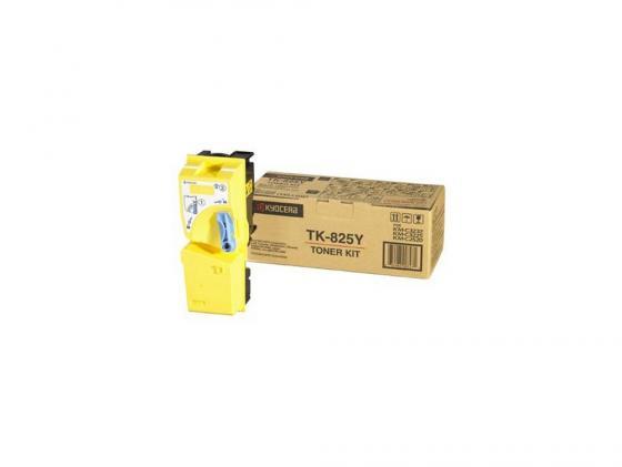 Картридж Kyocera TK-825Y для  KMC2520 C3225 C3232 желтый 7000стр
