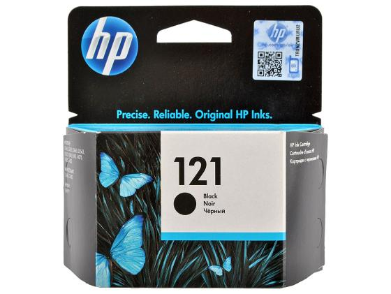 Картридж HP CC640HE №121 для HP DeskJet D1663 2563 2663 5563 DJ F2423 2483 2493 4213 4275 4283 4583 PhotoSmart C4683 C4783 черный 200стр