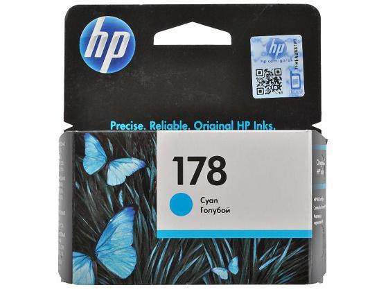 Картридж HP CB318HE №178 для Photosmart C5383 C6383 D5463 ProB8553 голубой 300стр цена 2017