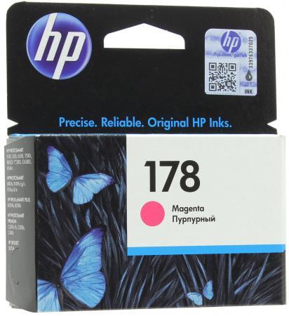 Картридж HP CB319HE №178 для Photosmart C5383 C6383 D5463 ProB8553 пурпурный 300стр цена 2017