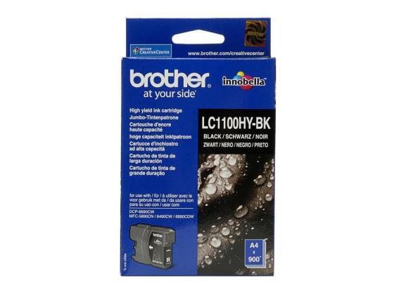 Картридж Brother LC1100HYBK для DCP-6690CW черный увеличенный decoretto картина 98 х 48 см москва сити декоративное стекло