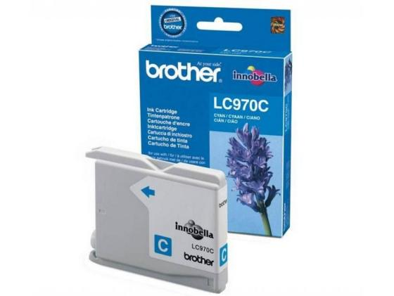 Картридж Brother LC970C для DCP-135C MFC-235C голубой 5x ink cartridge lc10 lc37 lc51 lc57 lc960 lc970 lc1000 for brother dcp 130c dcp 135c mfc 235c mfc 240c printer inkjet