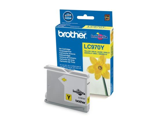 Картридж Brother LC970Y для DCP135C 150C MFC235C 265C желтый 350стр картридж для мфу brother lc970y yellow