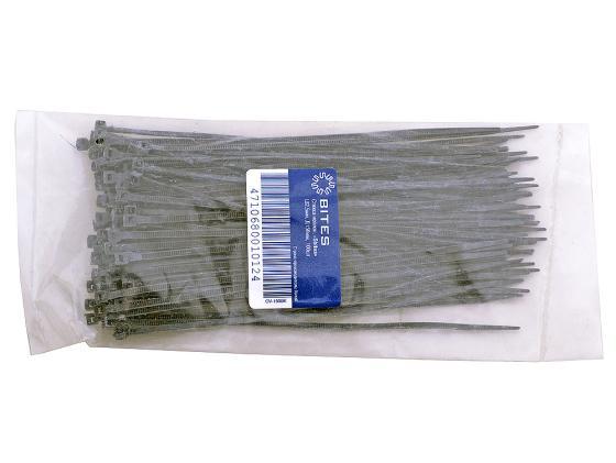 Пакет со стяжками 150мм*2.5мм 100шт черный cтяжка пластиковая gembird nytfr 150x3 6 150мм черный 100шт
