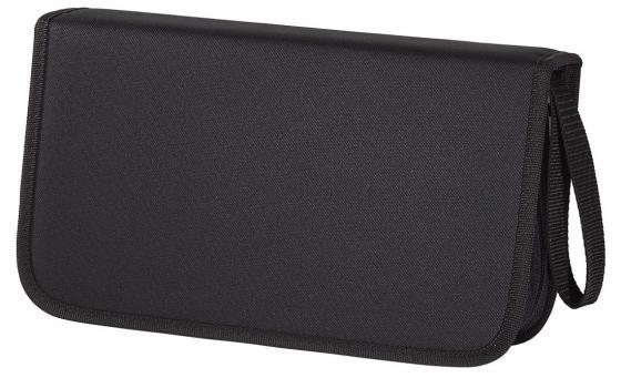 Портмоне HAMA для 104 CD черный H-11617 цена и фото