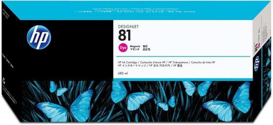 Картридж HP C4932A №81для DesignJet 5000/5500 680мл пурпурный 2 x carriage bush q1253 60066 c6095 60183 q1251 69273 designjet 1050 5000 5100 5500 ps printer plotter ink printhead carriage
