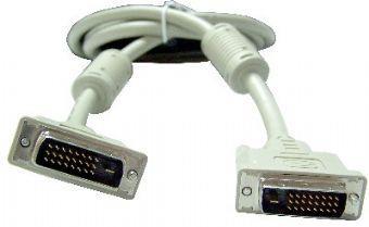 Кабель DVI-DVI 1.8м Dual Link Gembird 2 фильтра двойное экранирование CC-DVI2-6С кабель dvi dvi 1 8м dual link gembird ферритовые кольца cc dvi2 6 6c