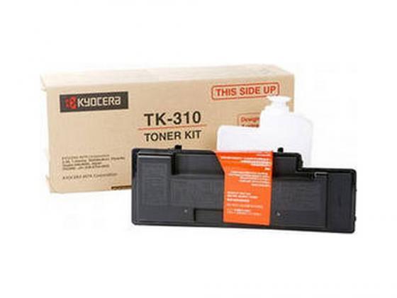 Картридж Kyocera TK-310 для FS 2000DN 3900DN 4000DN черный 12000стр картридж kyocera tk 320 для fs 4000dn черный 15000стр