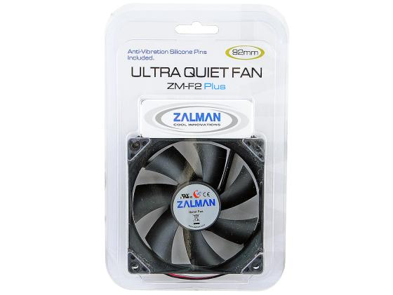 Вентилятор Zalman ZM-F2 PLUS (SF) 92mm 1500-2800rpm вентилятор zalman zm f2 plus sf 92mm