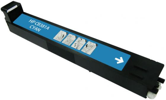 Картридж HP CB381A голубой для CLJ CM6030 CM6040 фотобарабан imaging drum hp cb385a для clj cm6030 6040