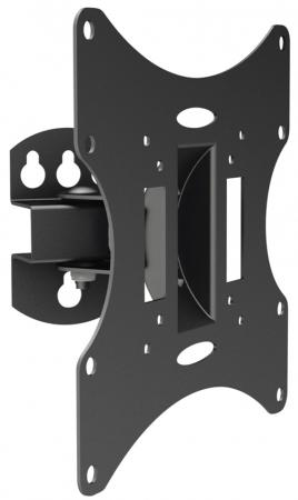 Кронштейн ARM Media LCD-201 черный 10''-37'' максимальная нагрузка 30 кг