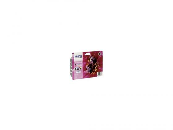 Набор картриджей Epson C13T10554A10 T0735 MultiPack для Epson С79/СХ3900/4900/5900 цветной фото