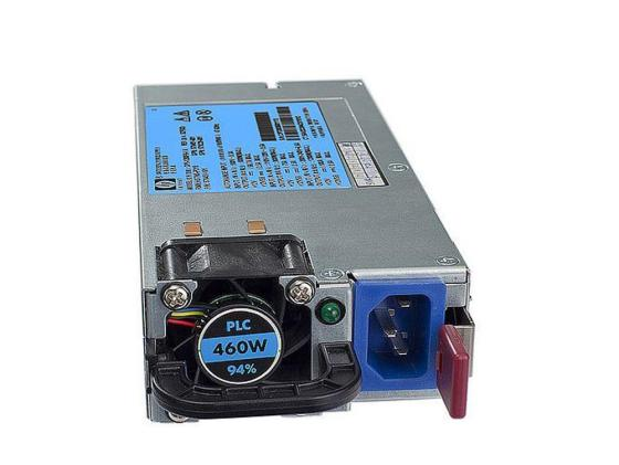 Блок питания HP Hot Plug Redundant Power Supply 460W Option Kit for 160G6/180G6/320G6/360G6/370G6/380G6/385G5pG6/350G6/370G6 [503296-B21] gzlspart for hp