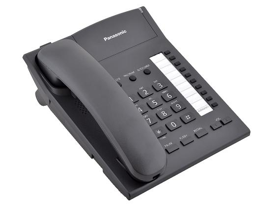 Телефон Panasonic KX-TS2382RUB черный телефон panasonic kx ts2352rub черный