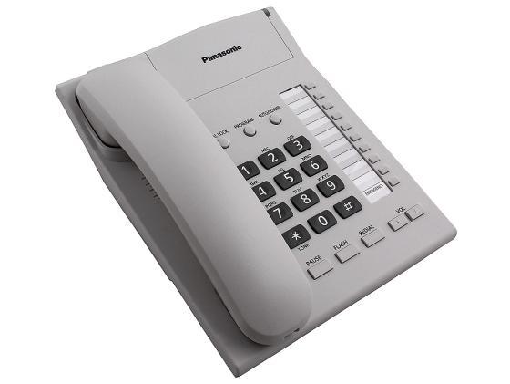 Телефон Panasonic KX-TS2382RUW белый panasonic kx tg8061 rub dect телефон