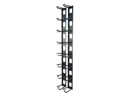 Органайзер APC Vertical Cable Organizer for NetShelter VX Channel черный AR8442 вертикальный кабельный органайзер apc vertical cable manager for netshelter sx 750mm wide 42u ar7580a