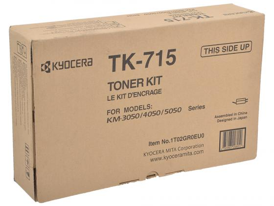 Картридж Kyocera TK-715 для KM-3050 4050 5050 34000стр new original kyocera 302gr25190 thermistor fuser nc for km 5050 4050 3050 ta520i 420i fs 9130dn 9530dn