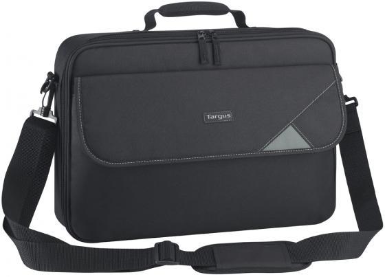 Сумка для ноутбука 15 Targus TBC002EU нейлон, черный сумка для ноутбука 13 14 1 targus classic cn414eu полиэфир черный