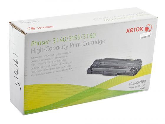 Картридж Xerox 108R00909 для Phaser 3140 2500стр картридж xerox 108r00909 для phaser 3140 3155 3160 2500стр