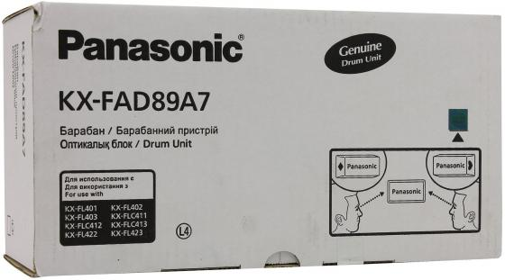 Фотобарабан Panasonic KX-FAD89A7 для Panasonic KX-FL403 KX-FLC413 10000стр термопленка panasonic kx fat88a для kx fl401 402 403 и flc411 412 413