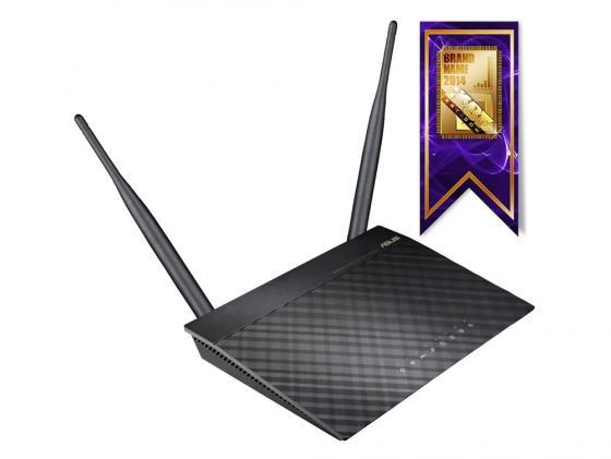 Беспроводной маршрутизатор ASUS RT-N12 802.11n 300Mbps 2.4 ГГц 4xLAN черный VPB1 маршрутизатор asus rt n56u 802 11n 300mbps 5 ггц 4xlan usb usb черный