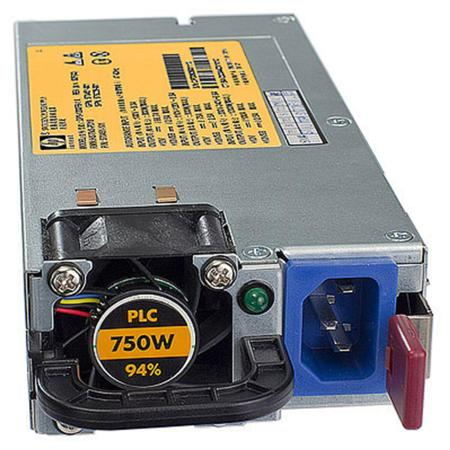 Блок питания Hot Plug Redundant Power Supply 750W Option Kit 150G6 160G6 512327-B21 блок питания mikrotik 24hpow high power 24v 2 5a power supply