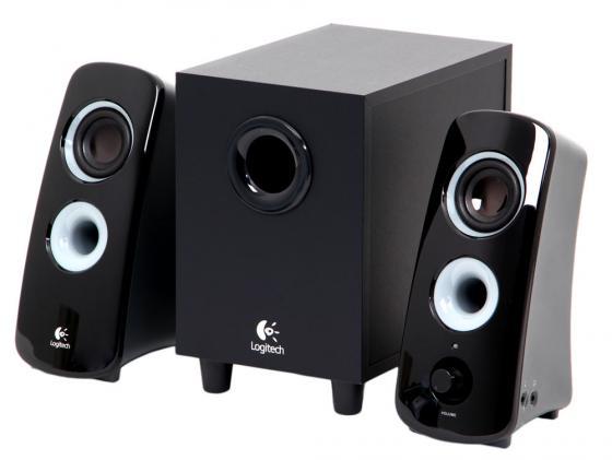 Колонки Logitech Z323 30 Вт черный 980-000356
