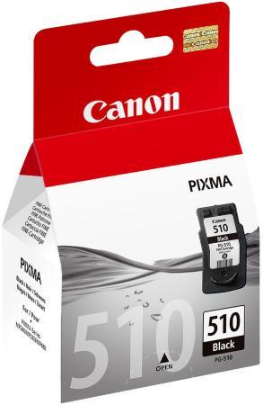 Картридж Canon PG-510 для PIXMA MP240 MP260 MP480 черный 220стр картридж canon pg 46 для pixma e404 e464 черный 9059b001