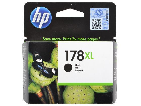 Картридж HP CN684HE №178XL для Photosmart C5383 C6383 B8553 D5463 черный
