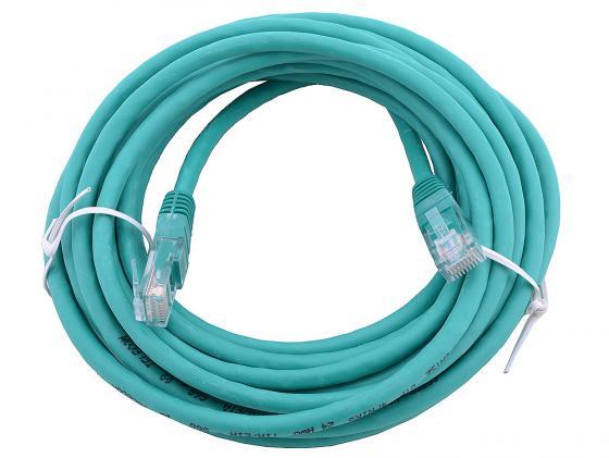 Патч-корд UTP 5e категории 5м зеленый CCA PVC