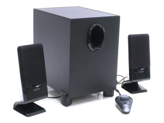 все цены на Колонки Edifier M1350 6 Вт + 2x2 Вт проводной пульт ДУ черный онлайн