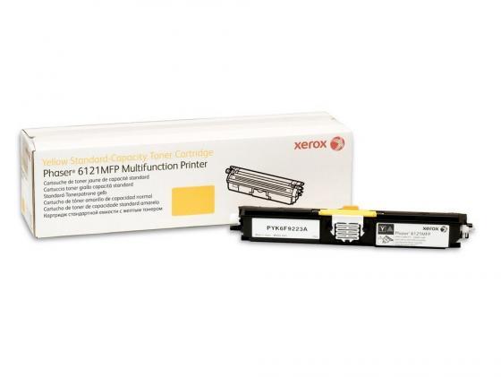 Картридж Xerox 106R01465 для Xerox Phaser 6121MFPS желтый 1500стр картридж для принтера xerox 106r01457 phaser 6128mfp purple