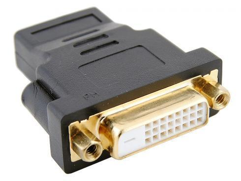 Купить Переходник HDMI F - DVI F ORIENT C489, Черный