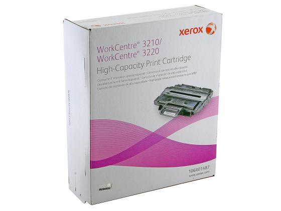 Картридж Xerox 106R01487 для Work Centre 3210 3220 4100стр. картридж для принтера nv print work centre 3210 3220 106r01487 black